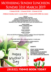 Mothers Day 212x300 - Mothers Day - Sunday 31st March